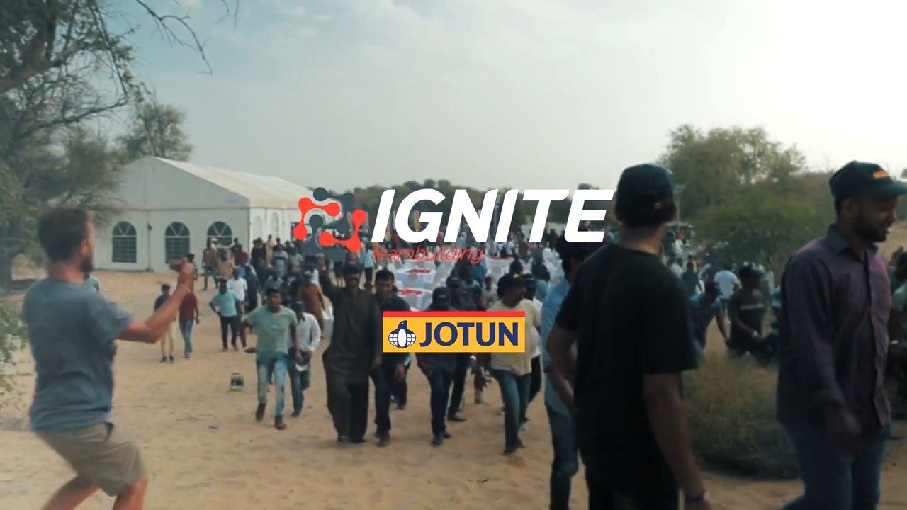 IGNITE Teambuilding – Jotun